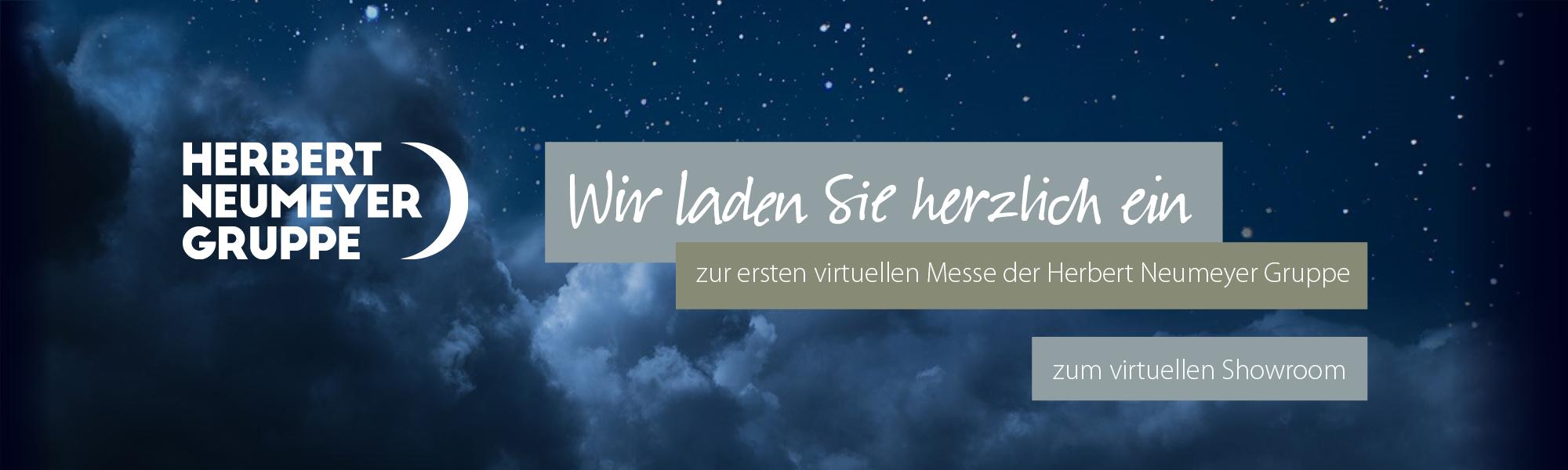 Einladung zur virtuellen Messe der Herbert Neumeyer Gruppe